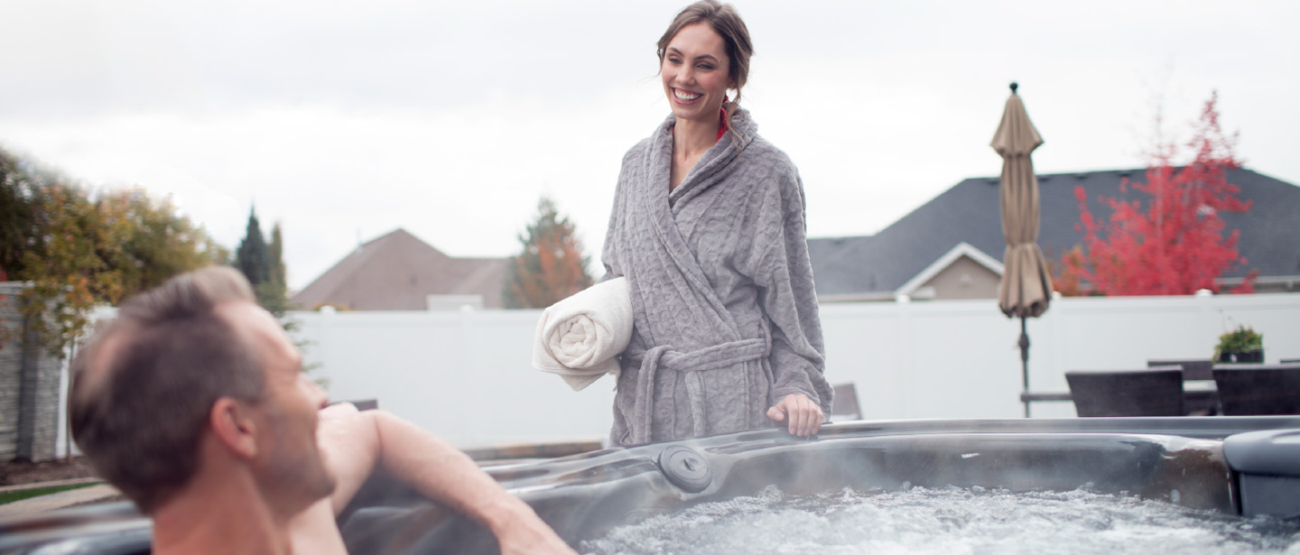 Fall in Love bullfrog spas event